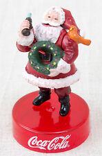 Coca-Cola Graffiti Smiling Santa Claus Toy Miniature Figure Kaiyodo JAPAN