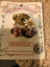Boyds Bears Pins Lot of 8 Bearware Clown -Angel-Mom-Tea-Igloo-5 New