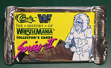 1990 Classic WWF Series II History of WrestleMania Card Pack Ultimate Warrior