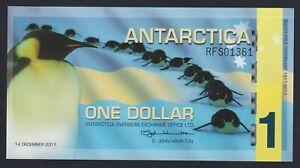 Antarctica 1 dollar 2011 (Banconota di Fantasia) FDS/UNC  B-10