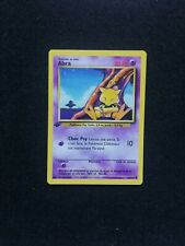 Carte Pokémon Abra 43/102 Edition 1 Set De Base Wizards FR Proche Neuf