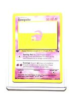 SLOWPOKE - 55/62 - 1st Edition Fossil - Common - Pokemon Card -  NM