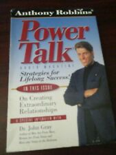 Anthony Robbins Power Talk Lifelong Success Audio Cassette Tapes Set