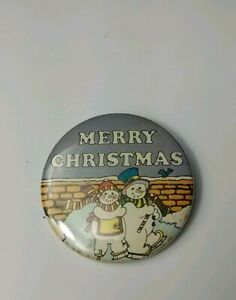 Ross Berrie & Company Merry Christmas Pin