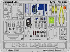 Eduard Zoom ss255 1/72 Lockheed P-38j Lightning Academia