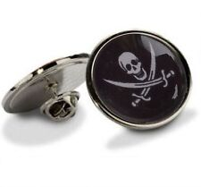 CALICO JACK PIRATE TIE LAPEL SUIT PIN NEW