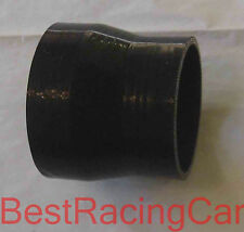 """2.5"""" to 3"""" Silicone Coupler Reducer Turbo, black"""