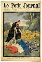 """LE PETIT JOURNAL 1909 n°984 - La Catastrophe du Dirigeable """"République"""""""