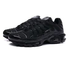 NIKE AIR MAX PLUS TN TRIPLE BLACK SIZES  6 - 8 - 9 - 10 - BRAND NEW