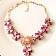 "New 18"" Jcrew Faux Opal Statement Necklace Xmas Gift Fashion Women Party Jewelry"