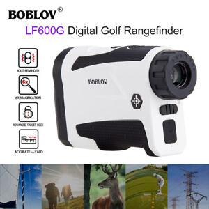 6x22 Hunting Golf Laser Range Finder Monocular With Flag Lock +/-1M Precision