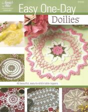 Easy One-Day Doilies Crochet Instruction Patterns Annie's Attic 48 Designs