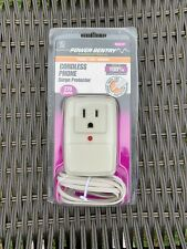 Fiskars Power Sentry Cordless Phone Surge Protector for office or home phone new