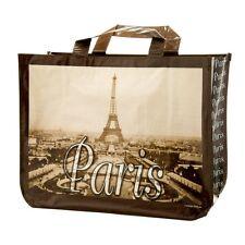 Parigi Torre Eiffel grande shopping bag, design francese, forte e riutilizzabile Bag