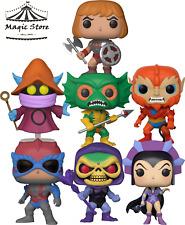 Funko POP ! Bundle MOTU - He-Man+Skeletor+Orco+Evil-Lyn+Merman+Stratos+Beast Man