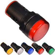 LED Indicateur Ampoule Lampe de Signalisation Pilot Light 12V 24V 230V