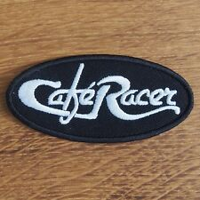 Motorcycle Biker Rocker Greaser Cloth Patch Leathers Cut Off Denim CAFE RACER