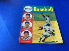 1952 OCT INSIDE BASEBALL MAGAZINE COVER PHOTOS STAM MUSIAL/PHIL RIZZUTO