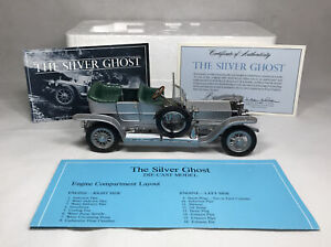 FRANKLIN MINT Precision Models - The 1925 Rolls-Royce Silver Ghost