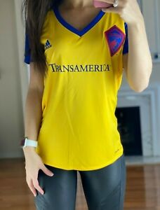 Colorado Rapids MLS Women's L Adidas Climacool Soccer Jersey Size Large NWT