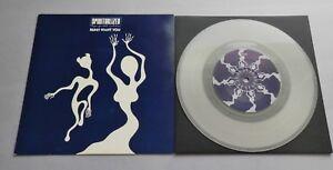 "Spiritualized - Run UK 1991 Dedicated Clear Vinyl 7"" P/S"