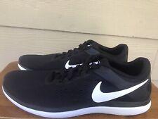 New listing Nike Flex 2016 Run 830369-001 Men's Black White Athletic Running Shoes Size 12