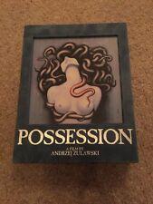 Possession By Andrzej Zulawski Blu Ray DELUXE EDITION Rare Horror Gore