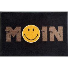 Waschbare Fußmatte Smiley - MOIN taupe - 50 x 75 cm Wash+Dry Fußabstreifer