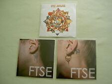 FTSE job lot of 3 promo CD album/singles Joyless Tidal Wave II Saint Saviour
