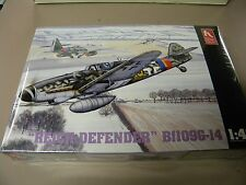 Hobby Craft 1:48 Reich Defender Bf-109 G-14 Plastic Aircraft Model Kit #HC1544
