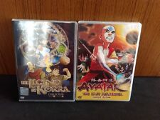 DVD - AVATAR :THE LAST AIR BENDER ( EPI 1-61 END ) + THE LEGEND OF KORRA