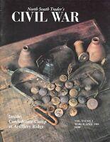 North South Trader Civil War V16 N3 Artillery Ridge Confederate Camp Virginia
