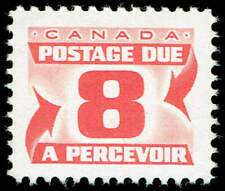Scott # J34i - 1969 - ' Postage Due '; 20 x 15¾mm, DEXTRINE GUM