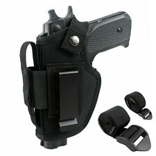 Vehicle Mount Car Truck Gun Pistol OWB IWB Ambidextrous Holster with Mag Pouch
