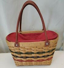 New ListingLongaberger 2004 Management Bound Purse Basket w Liner, Protector A New Day Mba