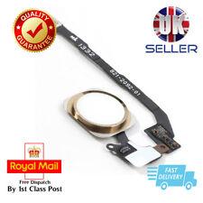 Apple iPhone 5S & SE home Main Menu Button Flex Ribbon Cable Gold