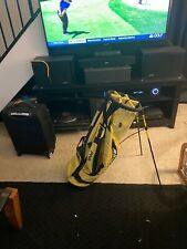 PING Stand Bag Yellow/Black