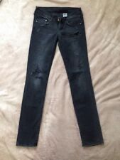 Buy H M Grey Distressed Jeans For Women Ebay