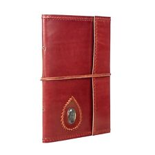 Fair Trade Extra Large Stitched and Stoned Leather Photo Album - 2nd Quality