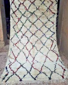 Vintage Moroccan Azilal tribal woollen rug  300 x 172 cm