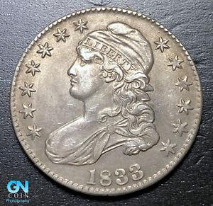 1833 Capped Bust Half Dollar  --  MAKE US AN OFFER!  #B3592