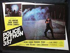 FOTOBUSTA CINEMA - POLICE PYTHON 357 - YVES MONTAND - 1975 - POLIZIESCO - 01