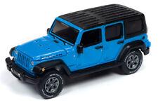 Auto World Jeep Wrangler Unlimited Rubicon 2018 Blue 64242 A 1/64