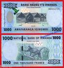 RUANDA RWANDA 1000 Francos francs 2015 Pick NEW SC / UNC