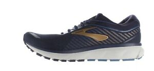 Brooks Mens Ghost 12 Navy/Gold Running Shoes Size 10 (1698586)