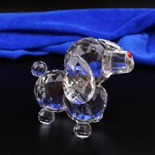 Glass Statue Mini Dog Figurine Crafts Gifts Wedding Souvenirs Home Decoration