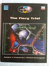 The fiery trail   Babylon 5 RPG sci-fi roleplaying book MGP mongoose