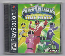 Power Rangers Time Force Video Game Sony Playstation 1 2001 Rare
