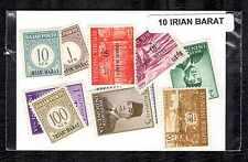 Irian Barat 10 timbres différents