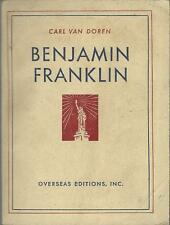 BENJAMIN FRANKLIN USA 1938 RAR!